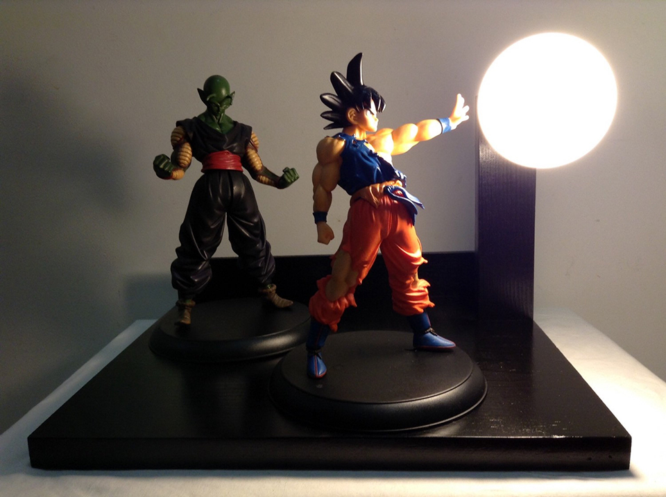 Dragon Ball Z lámpara (7)