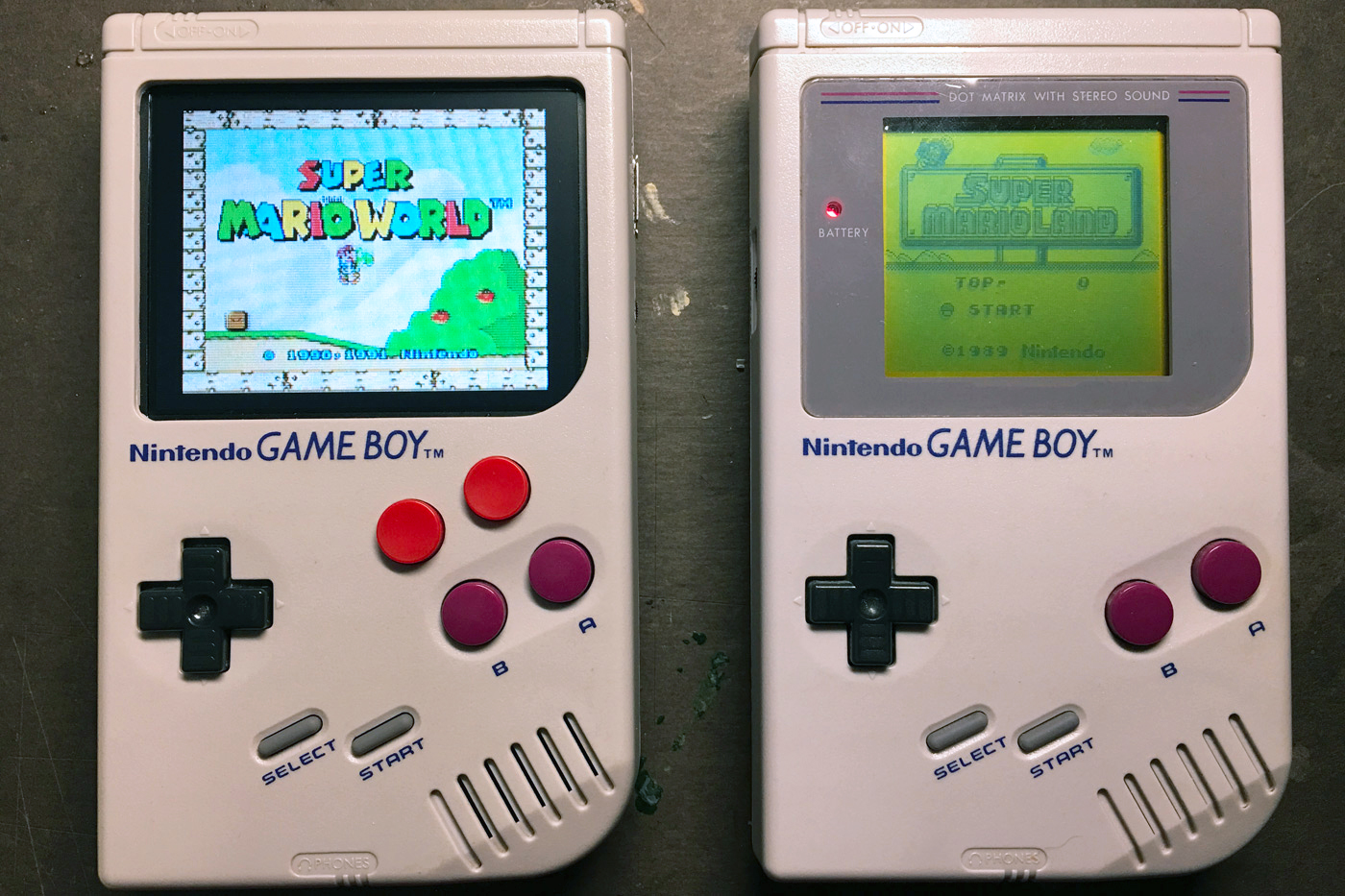 Un Game Boy Que Corre Todos Los Juegos De Super Nintendo Video Tec