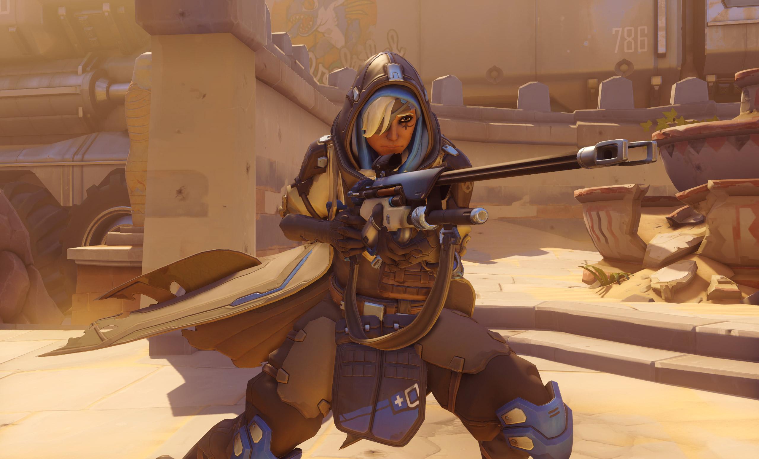 Ana Overwatch hero support4