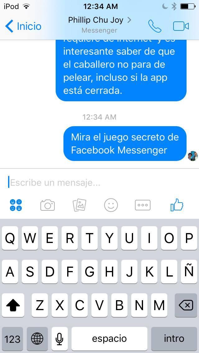 Messenger juego de tútbol (2)