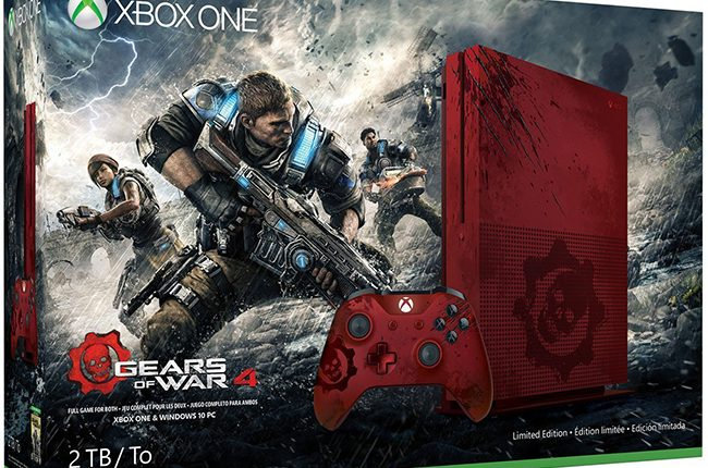 Xbox One S Gears of war 4 (1)