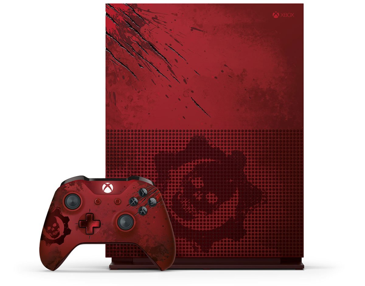 Xbox One S Gears of war 4 (2)