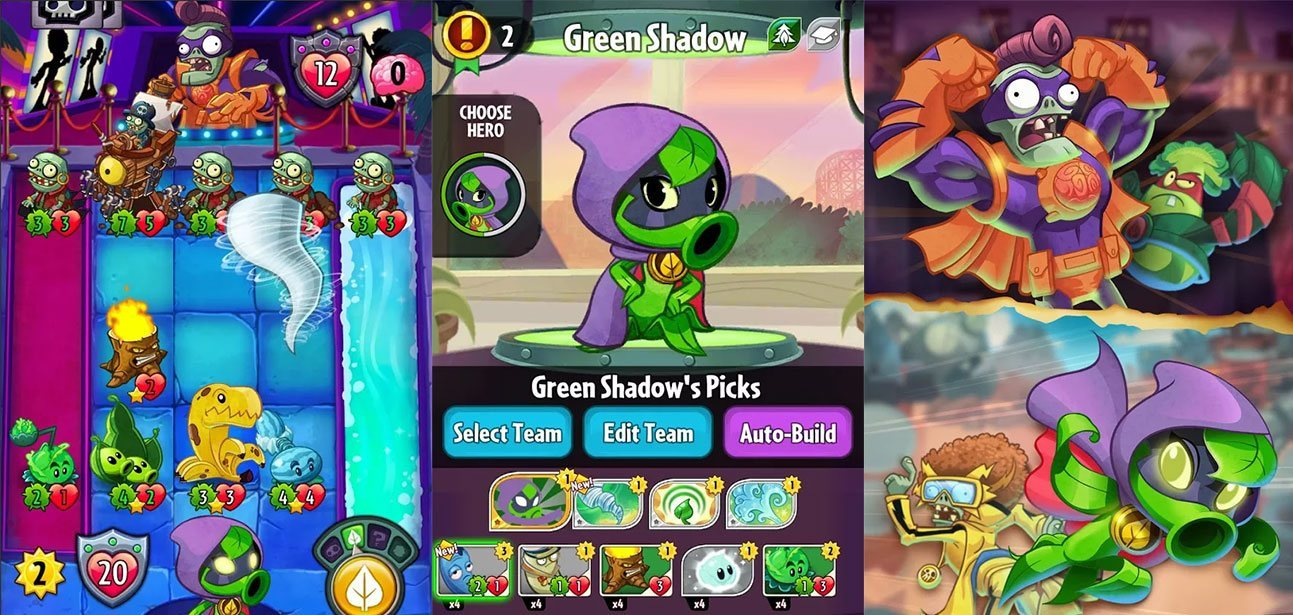 plants vs zombies heroes unblocked