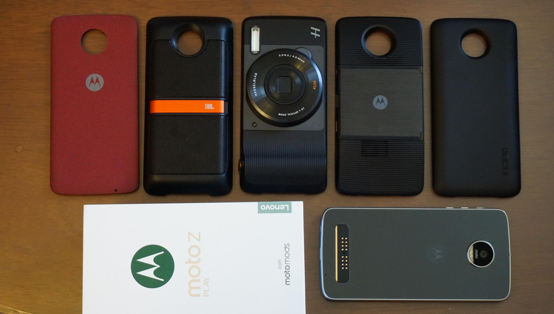 Moto Z Play Moto Mods Unboxing El Smartphone Modular