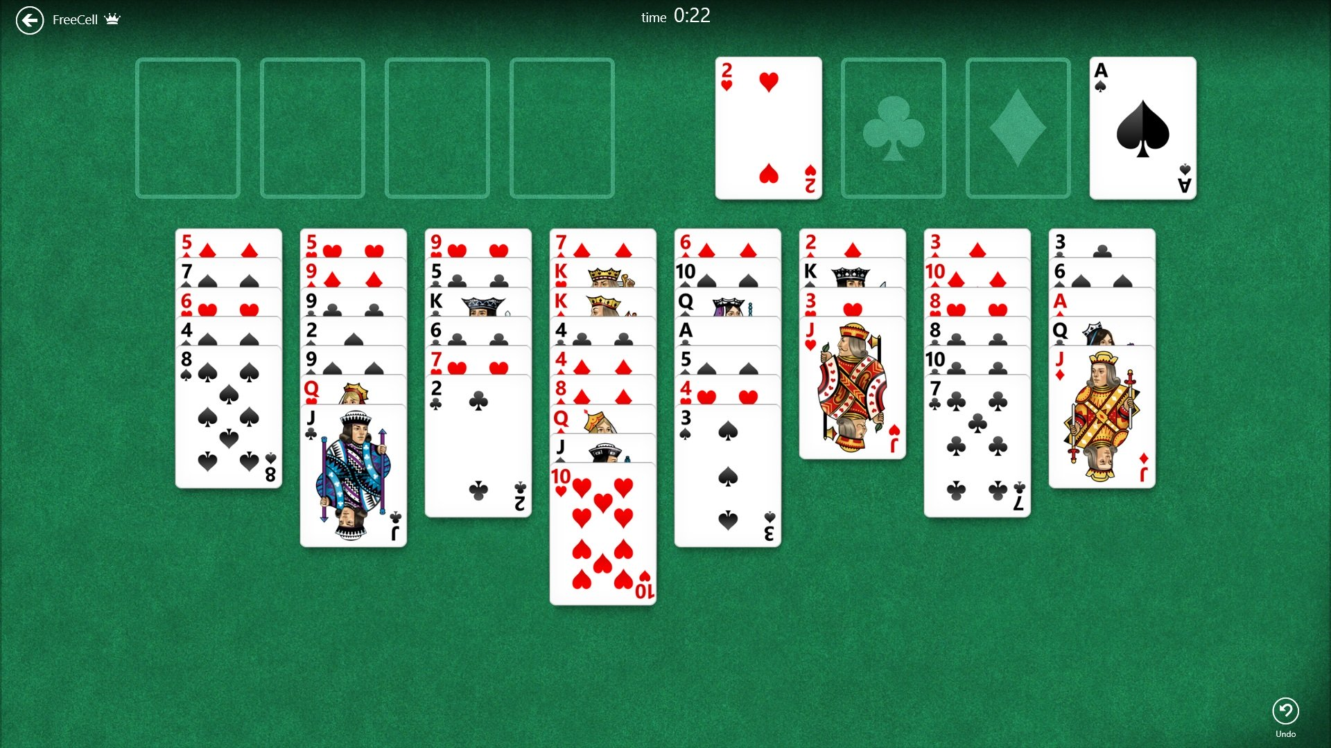 freecell solitaire app