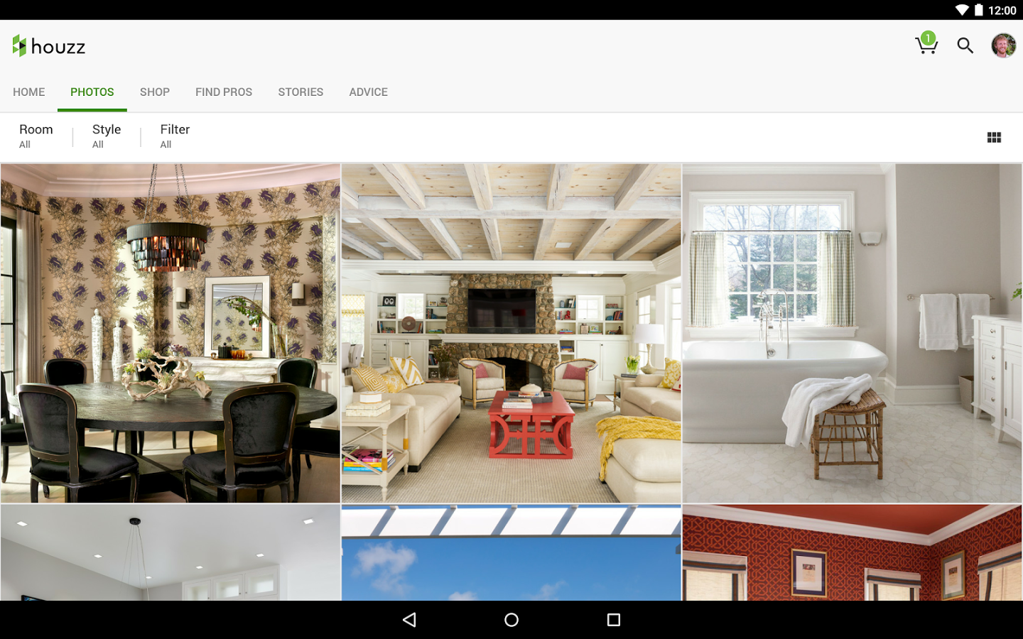 Apps de la semana 11 de diciembre houzz para remodelar for Best house design app