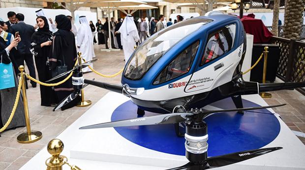 drones con pasajeros