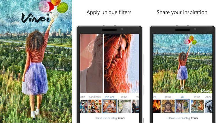 Vinci app pintura