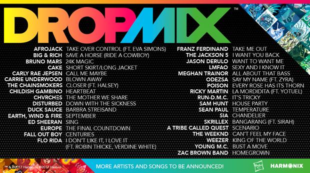 dropmix canciones