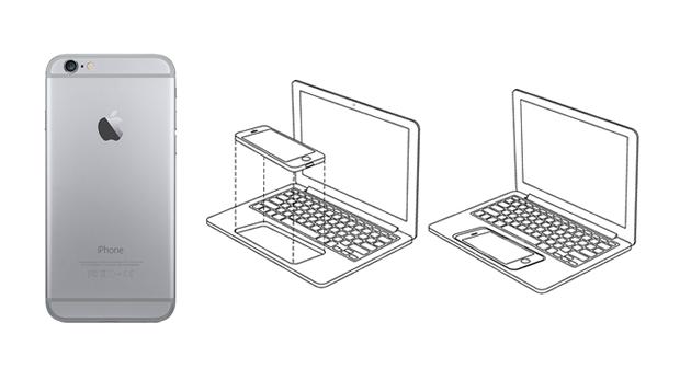 iphone laptop patente 1