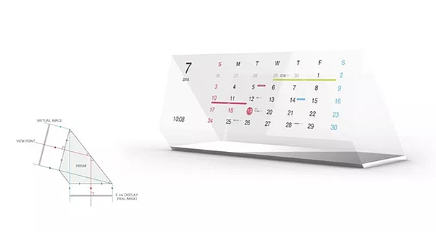 magic calendar escritorio