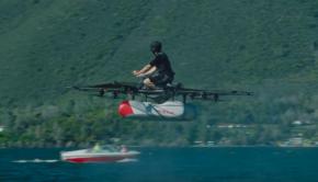 auto volador kitty hawk