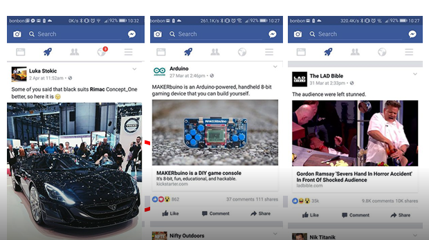 facebook cohete noticias