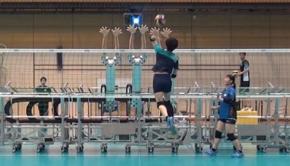 japon volley robots