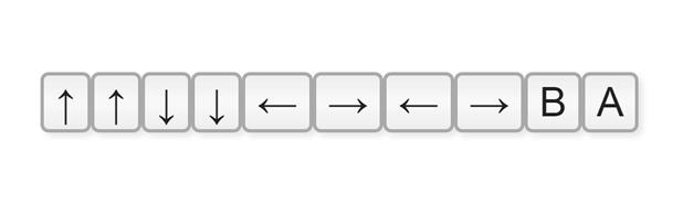 konami codigo teclado