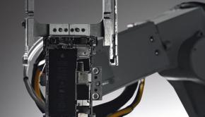 robot liam apple