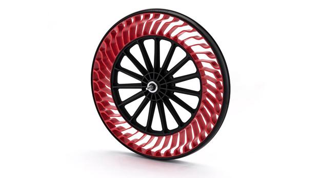 ruedas sin aire