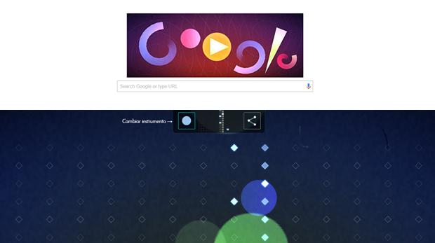 google doodle musical