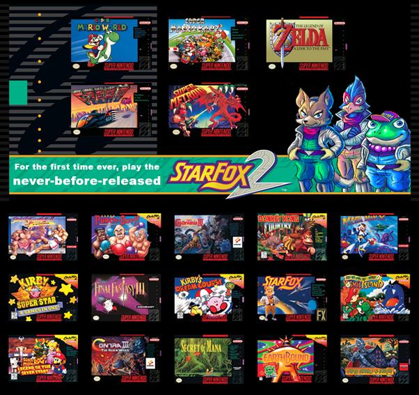 juegos super nintendo mini classic