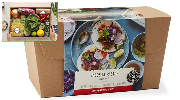 amazon meals packs con preview