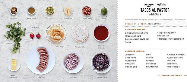amazon meals receta