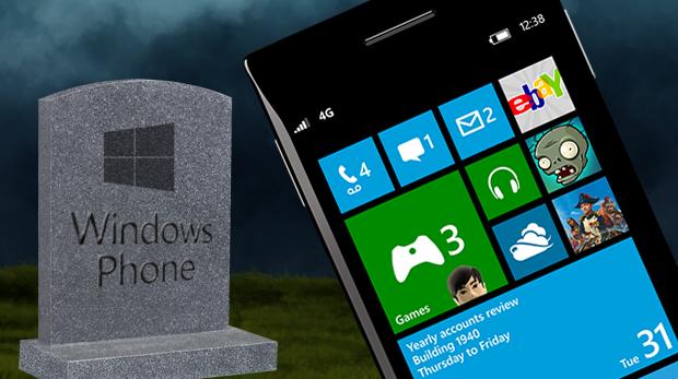 windows phone muere
