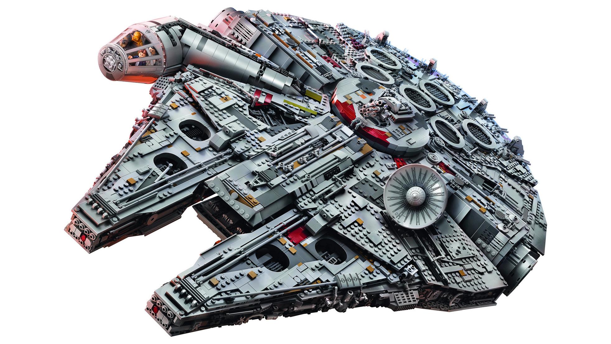 LEGO Halcón milenario Milenium Falcon (1)