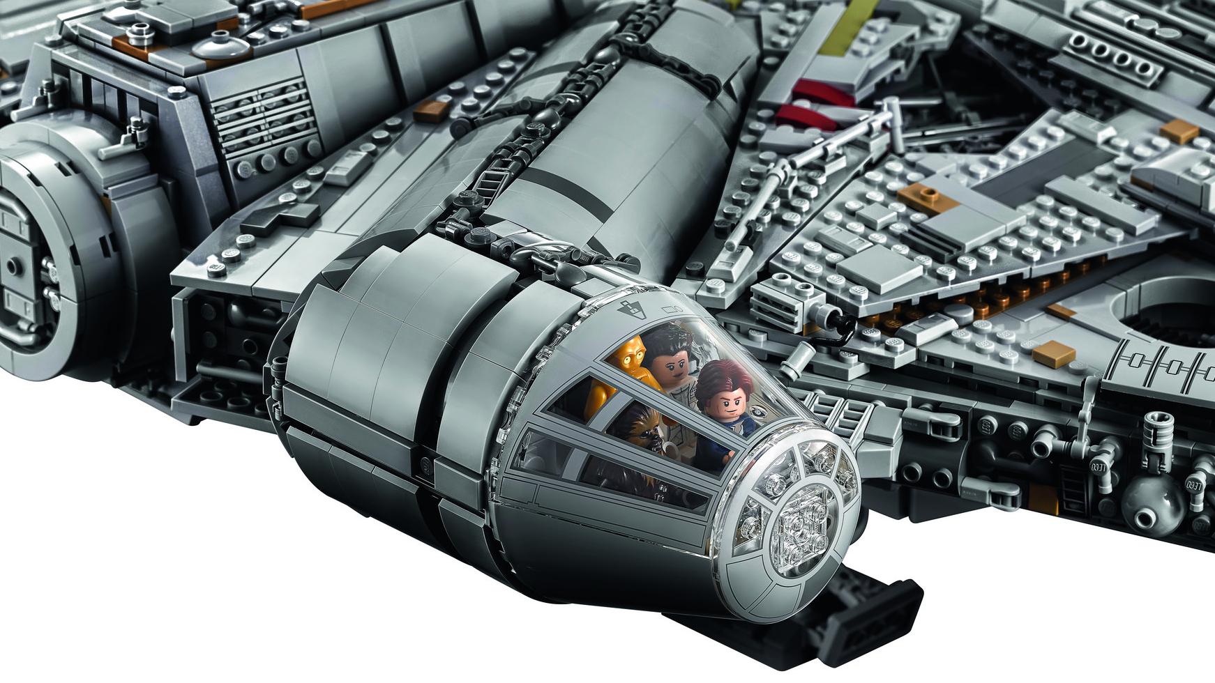 LEGO Halcón milenario Milenium Falcon (3)