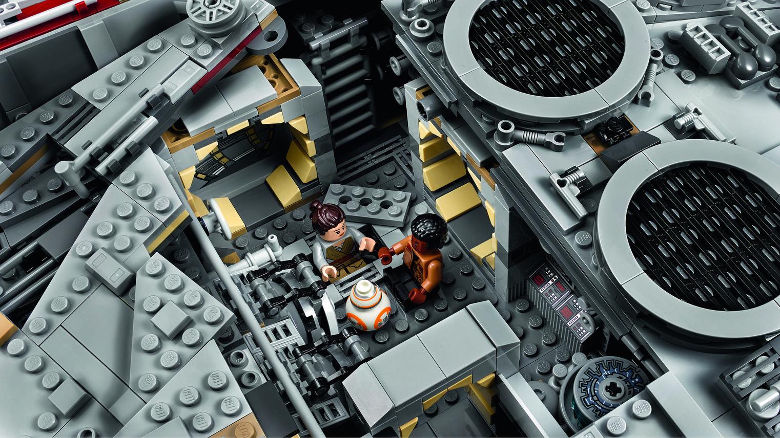 LEGO Halcón milenario Milenium Falcon (5)