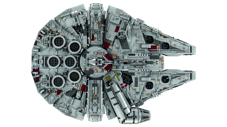 LEGO Halcón milenario Milenium Falcon (6)