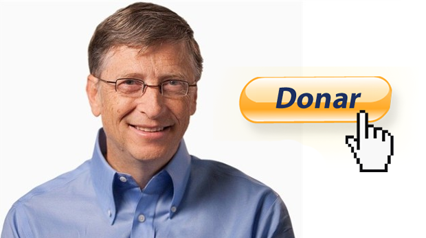 bill gates donacion