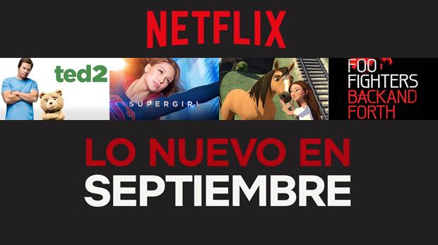 netflix setiembre
