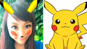 snapchat pikachu