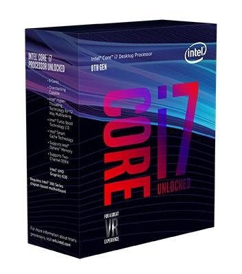 8th Gen Intel Core i7-8700K Box