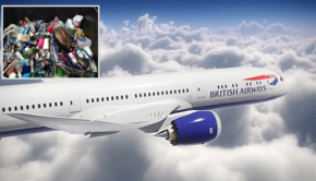 british airways combustible basura
