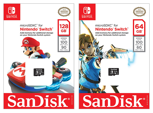 Muchos juegos de Nintendo Switch exigirán una microSD