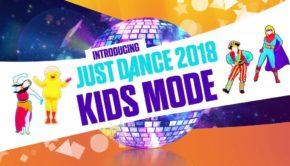 just dance 2018 kids mode