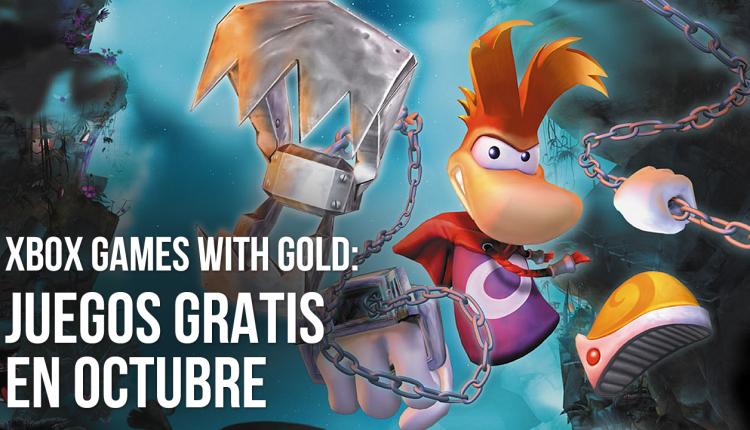 xbox gold gratis octubre