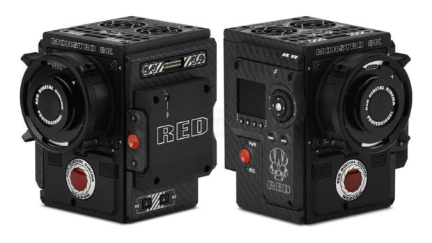 red sensor mosntro