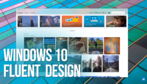 windows 10 fluent design