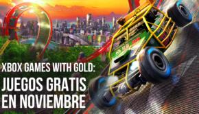 xbox gold gratis noviembre