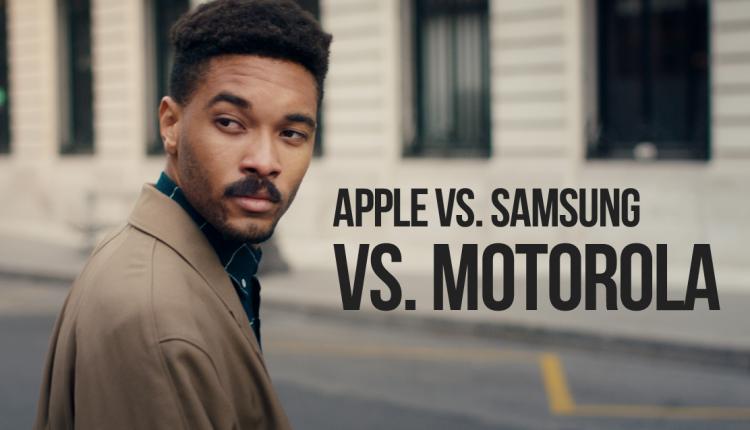 vs motorola vs apple