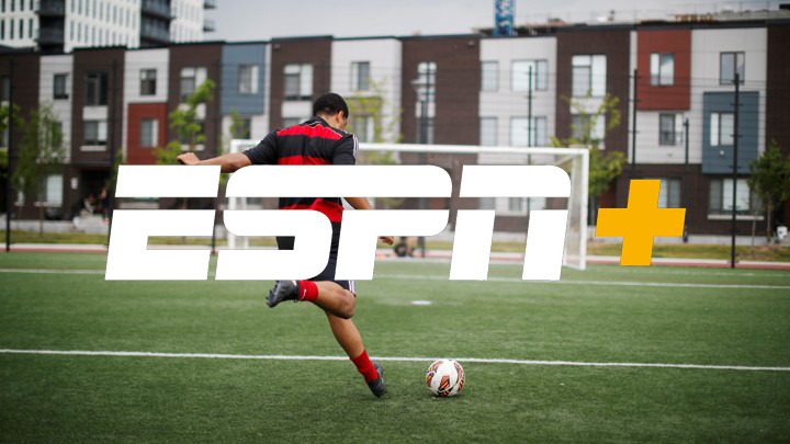A youth plays soccer in one of the host cities for the 2026 FIFA World Cup in Toronto