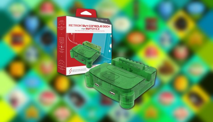 Retro dock n64