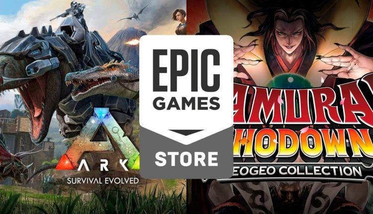 epic-games-store-Ark-survival-Evolved-y-Samurai-Shodown-Collection