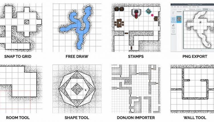 DungeonMapDoodler
