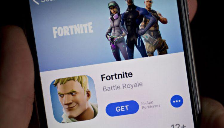 Epic Games Inc. Fortnite App As Gamers Flock