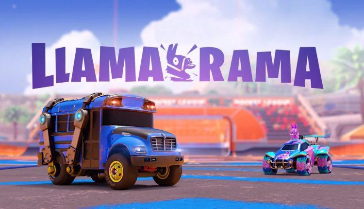 Rocket-League-y-Fortnite-se-unen-en-el-evento-Llama-Rama