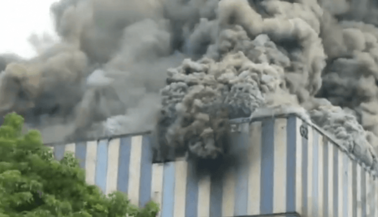 huawei-lab-china-caught-fire