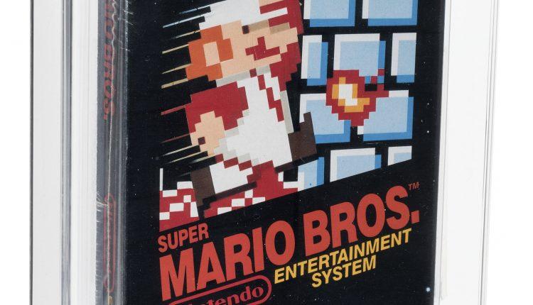 Super Mario Bros Auction
